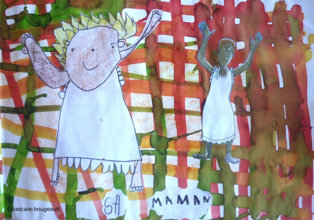 82455858d1 La famille de Lucette, sa maman, son papa, ses grands-mères et ...